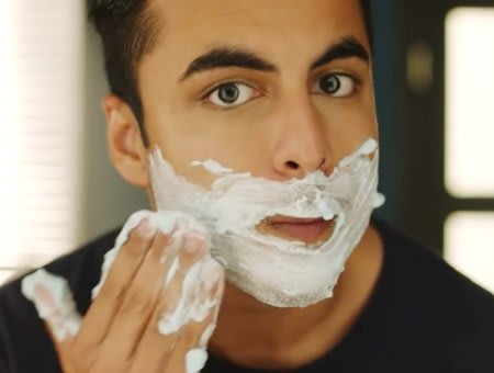 Apply Shaving Cream